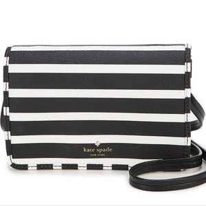 NEW Kate Spade Hyde lane stripe crossbody bag